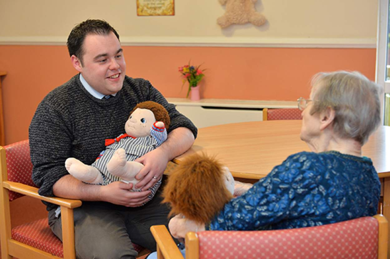 Doll Therapy: The Controversial Intervention for People Living with Dementia, Dr Gary Mitchell