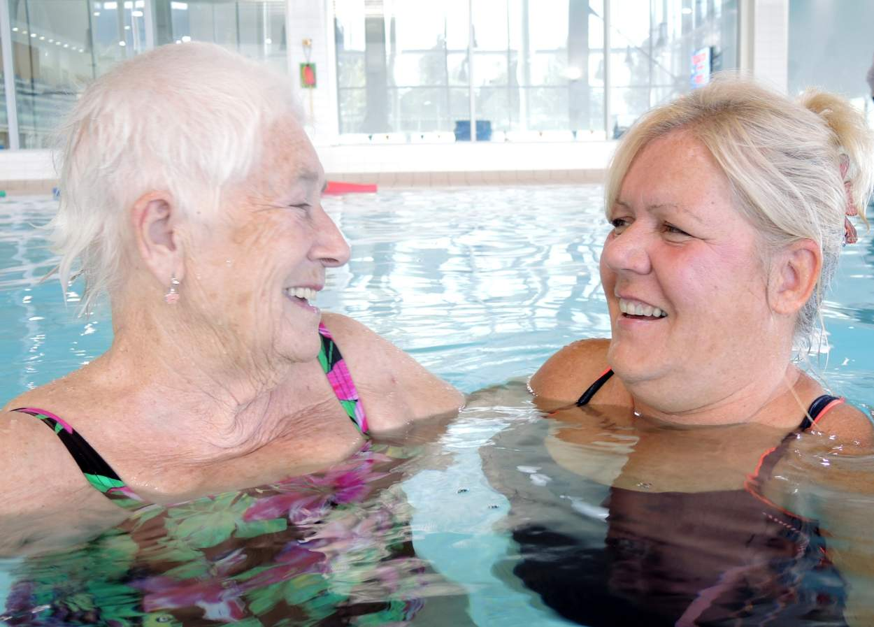 Building Confidence in Mind and Body with The Dementia Swimming Project
