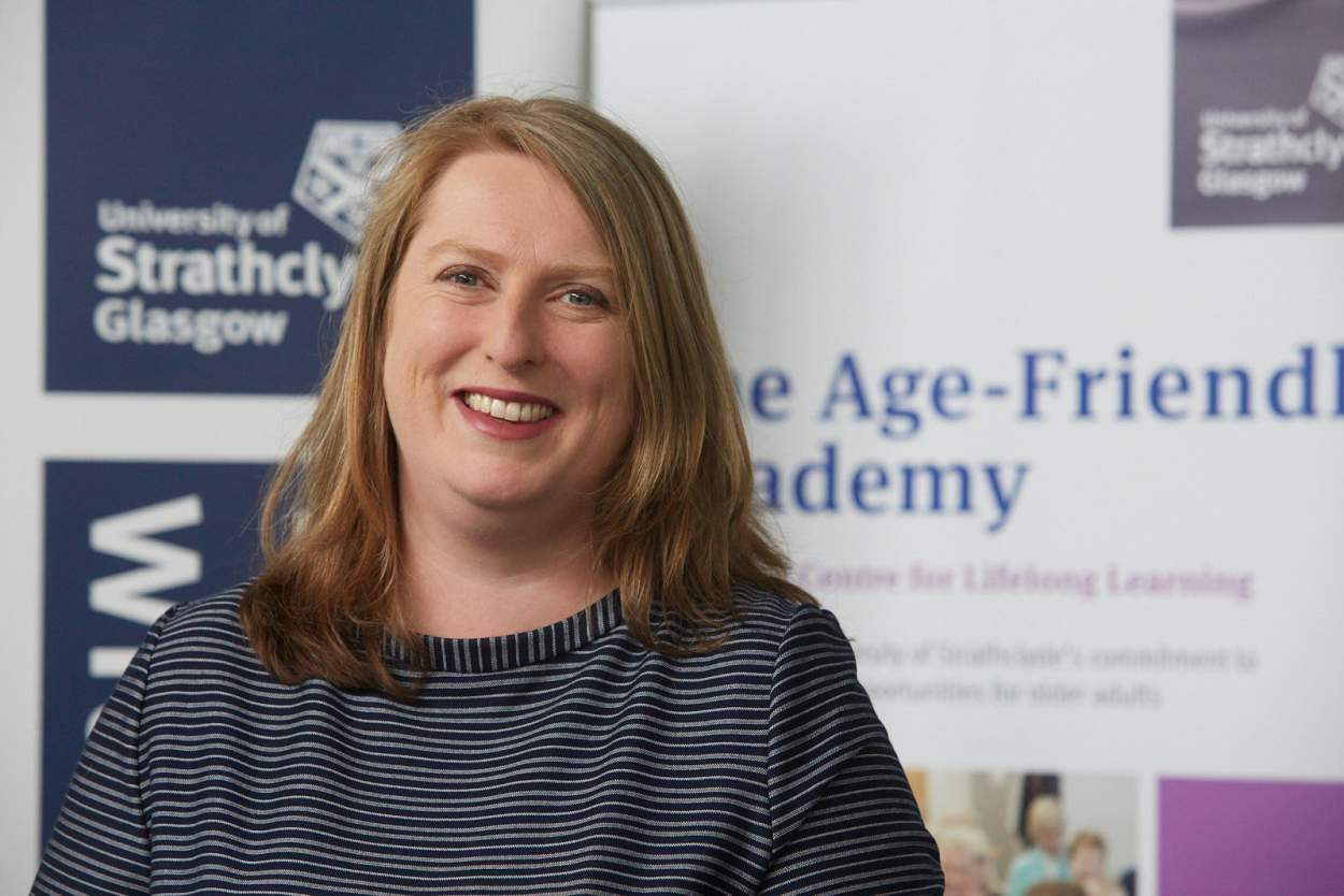Alix McDonald, Head of the Centre for Lifelong Learning at University of Strathclyde