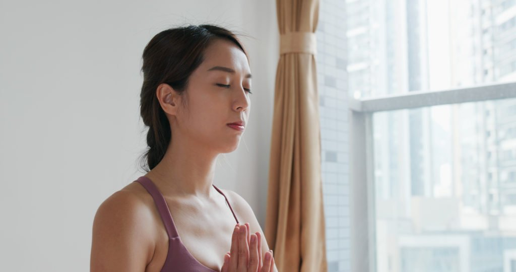 Meditation is proven to reduce stress as a caregiver.
