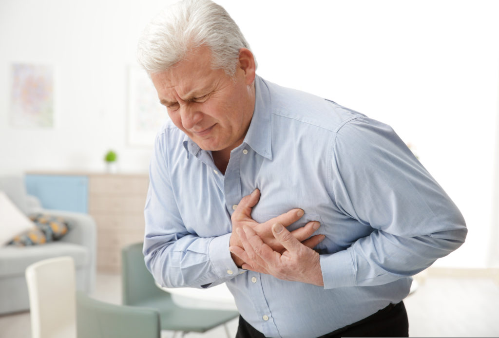 Chest pain from Heart Disease