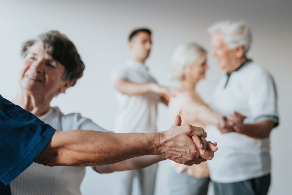 Dancing is a popular exercise for those living with Parkinson's disease