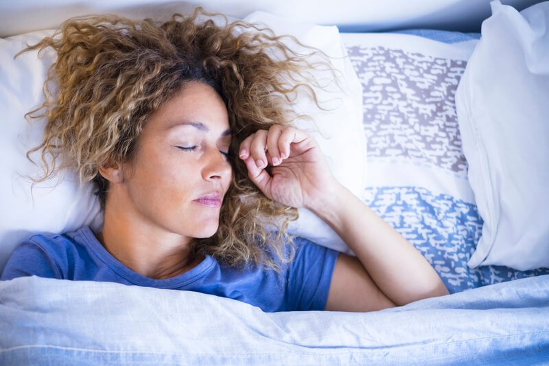 A good night's sleep is often one of the first things to go when you're feeling stressed.